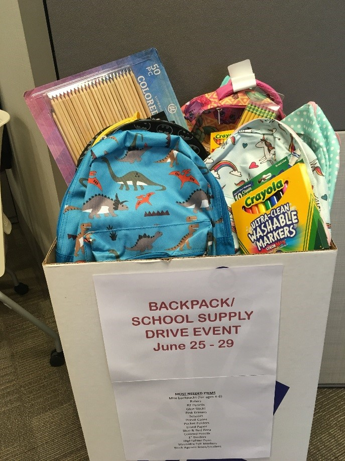 Bar-S Foods - Bar-S Employees Donate School Supplies for Kids