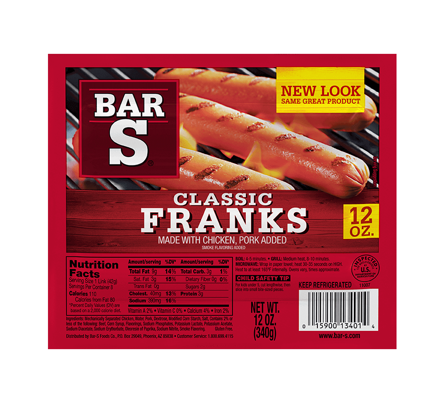 Quality Bacon, Hot Dogs, Sausages & Lunchmeat | Bar-S Foods