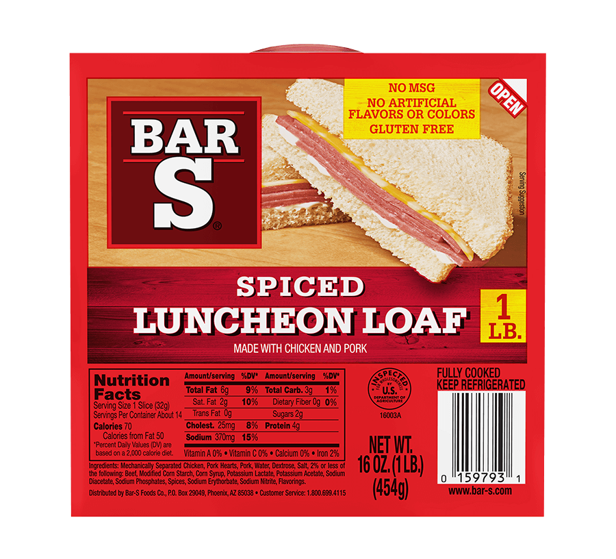 Spiced Luncheon Loaf - Classic