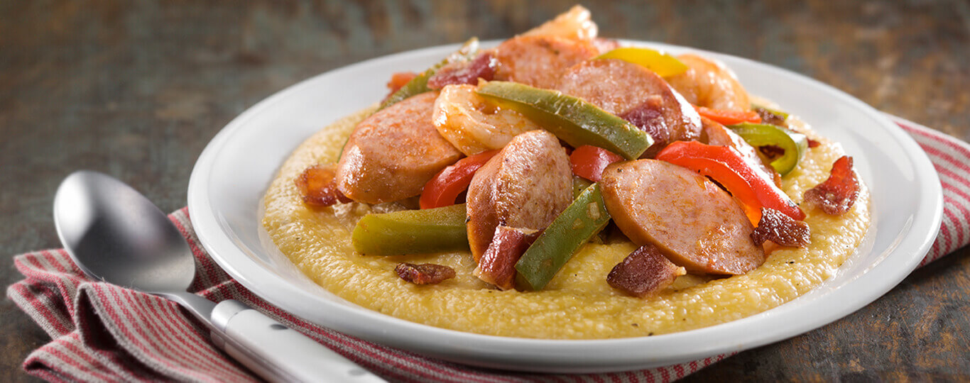 Deluxe Shrimp, Sausage & Grits Recipe