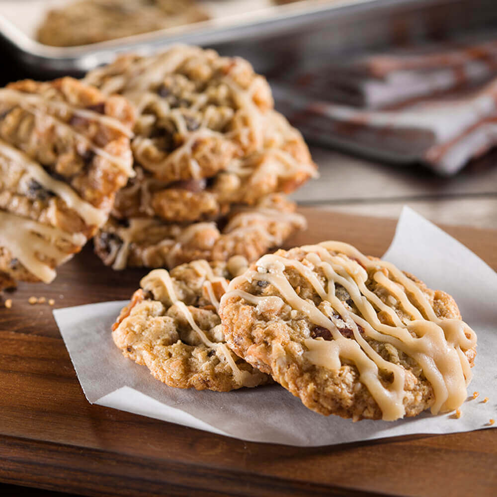 Butterscotch-Bacon Oatmeal Cookies