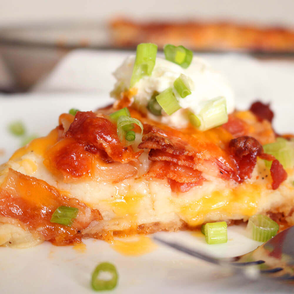 Bacon Mashed Potato Pie