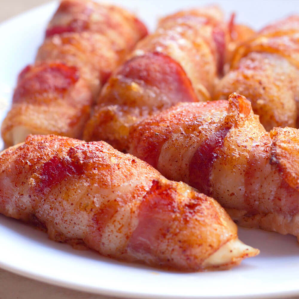 Bar-S Bacon Wrapped Chicken Tenders