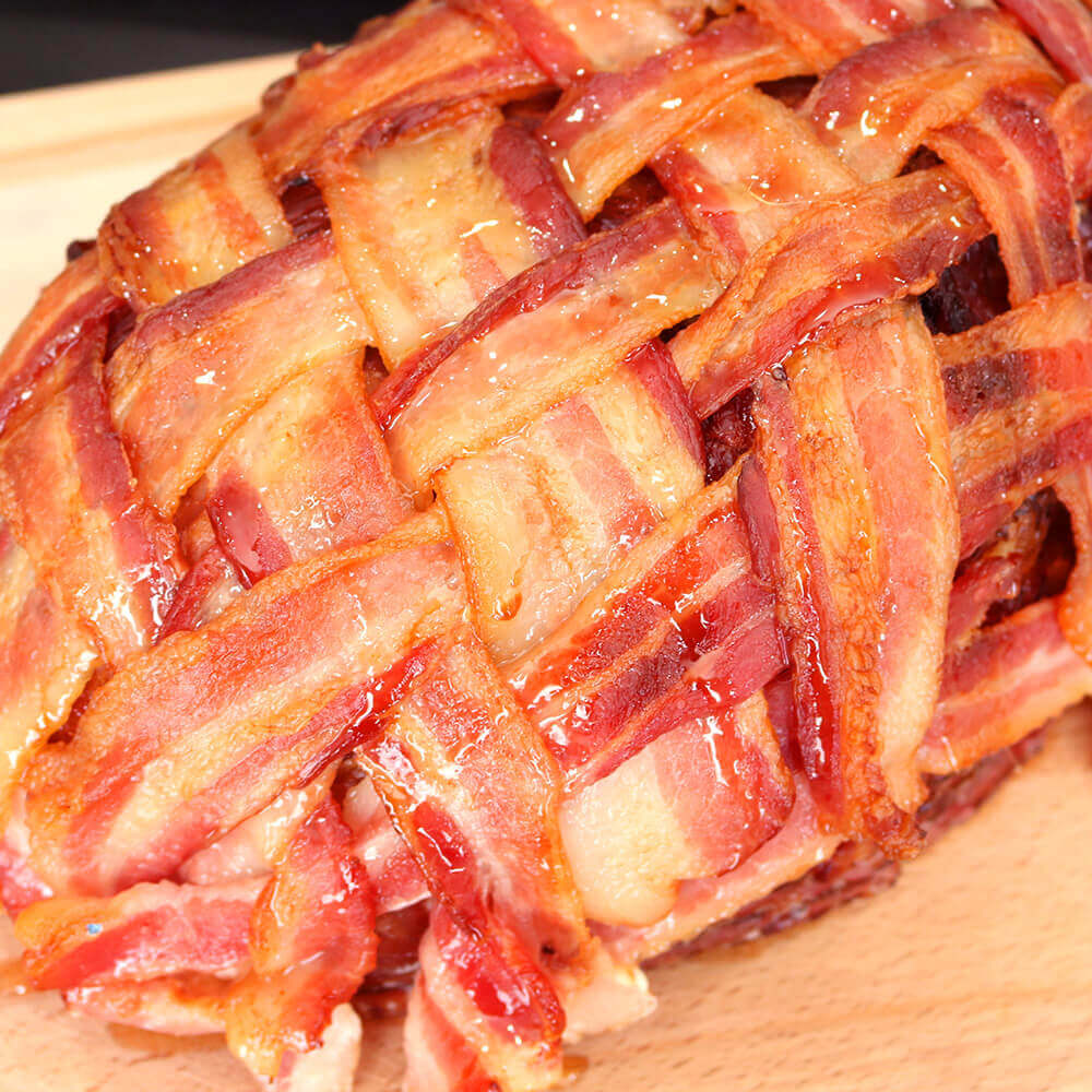 Bar-S Bacon Wrapped Ham