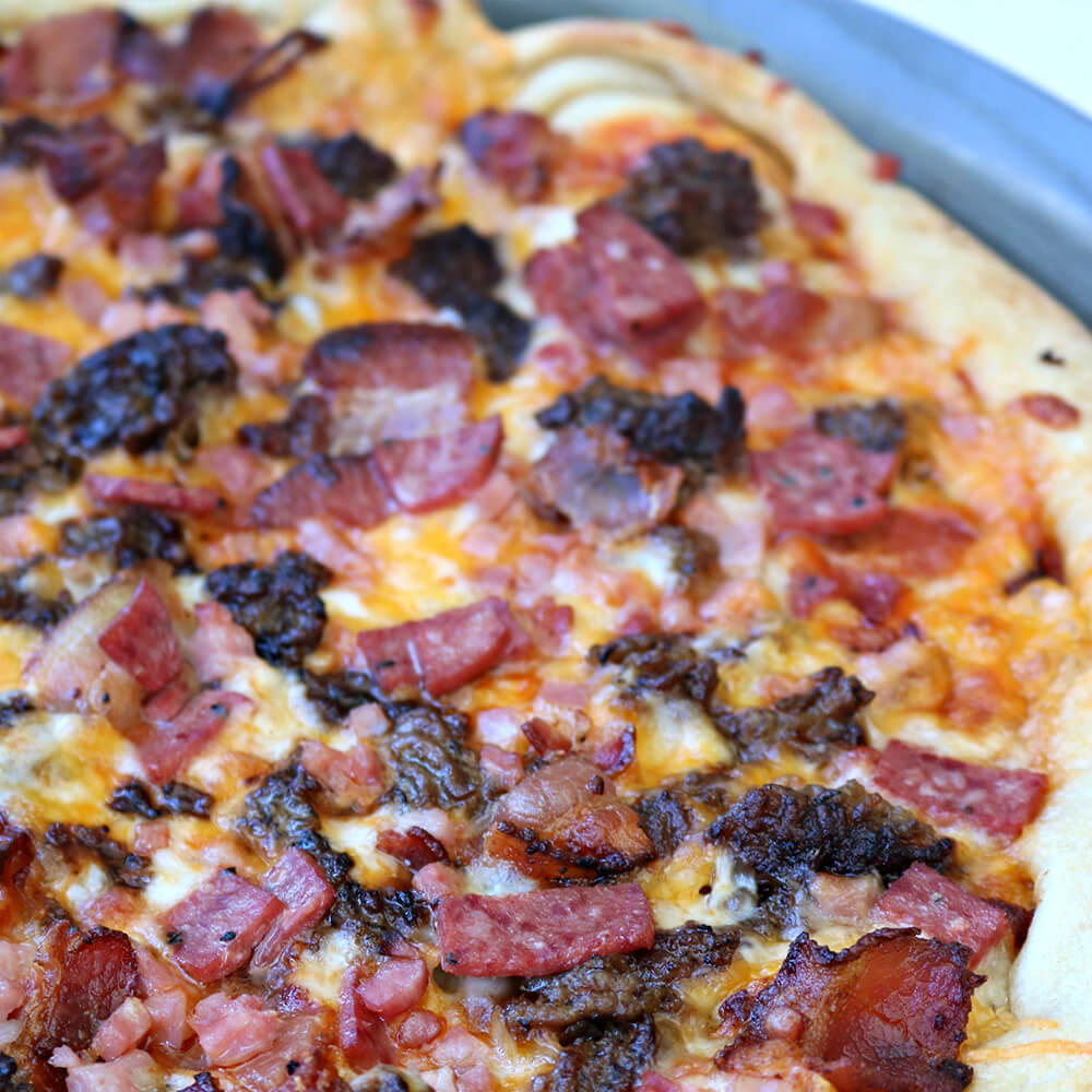 Easy Meat Lovers Pizza Recipe Bar S